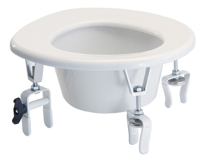 Graham Field Clamp-on Handicap Medical Raised Elevated Toilet Seat at Sears.com