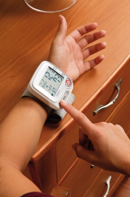 Advanced Wrist Blood Pressure Monitor by Graham Field