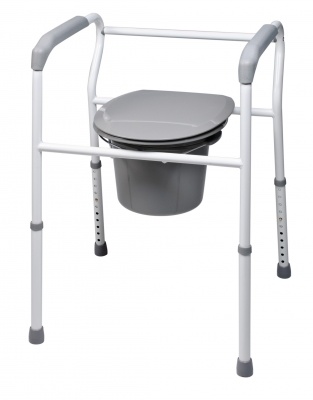GF: Platinum Collection 3-in-1 Steel Commode