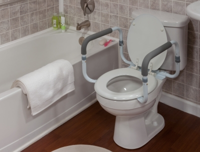 Surprising Gf Adjustable Toilet Safety Rail Onthecornerstone Fun Painted Chair Ideas Images Onthecornerstoneorg